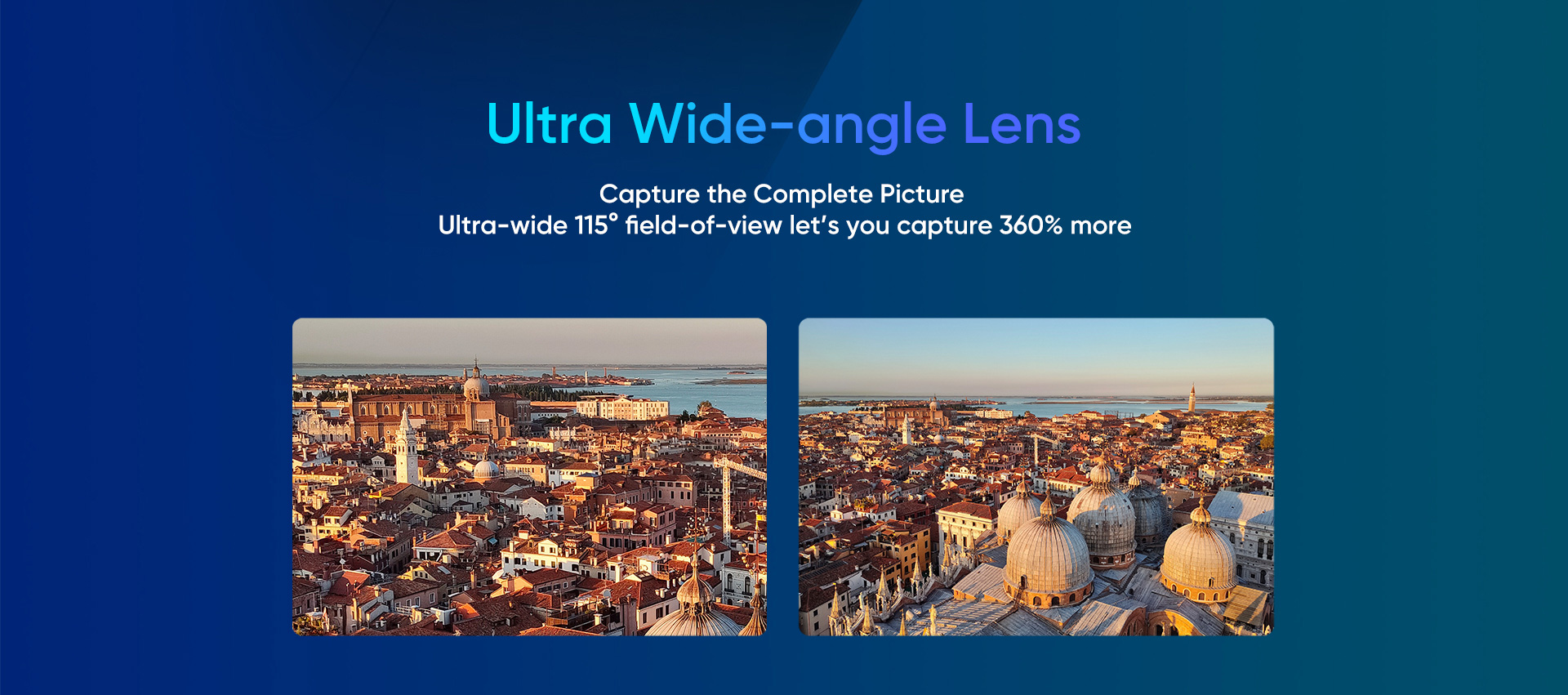 Realme X2 Pro- ultra wide-angle lens