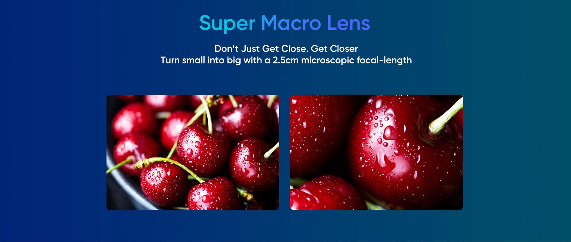 Realme X2 Pro- Super Macro lens