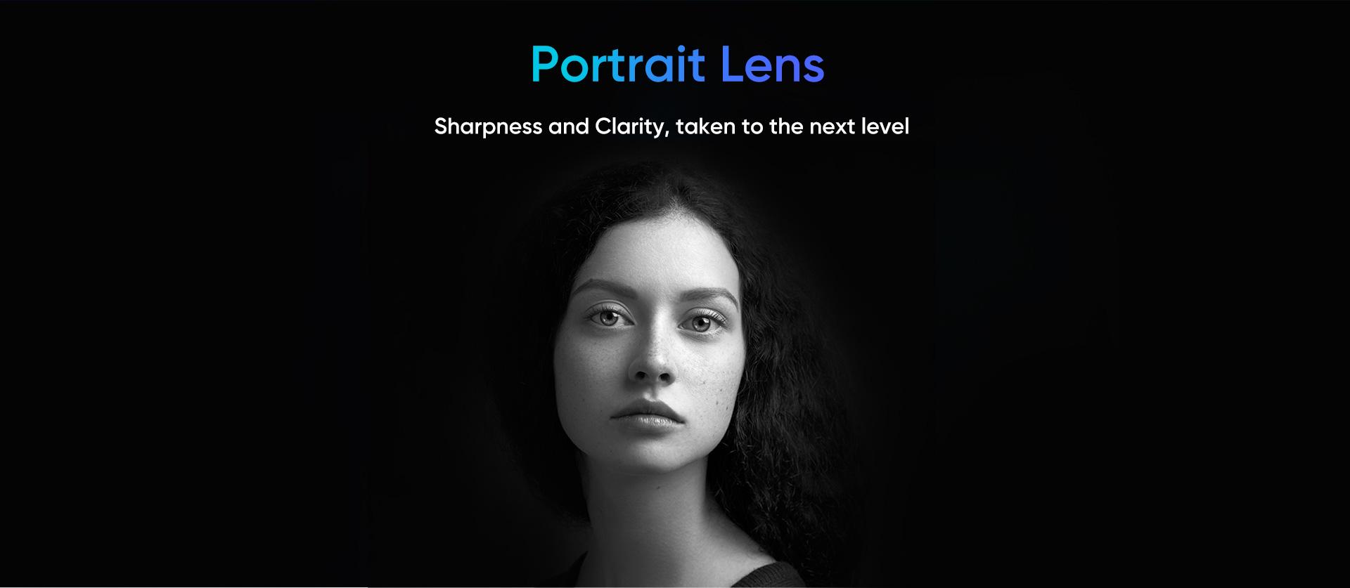 Realme X2 Pro- portrait lens